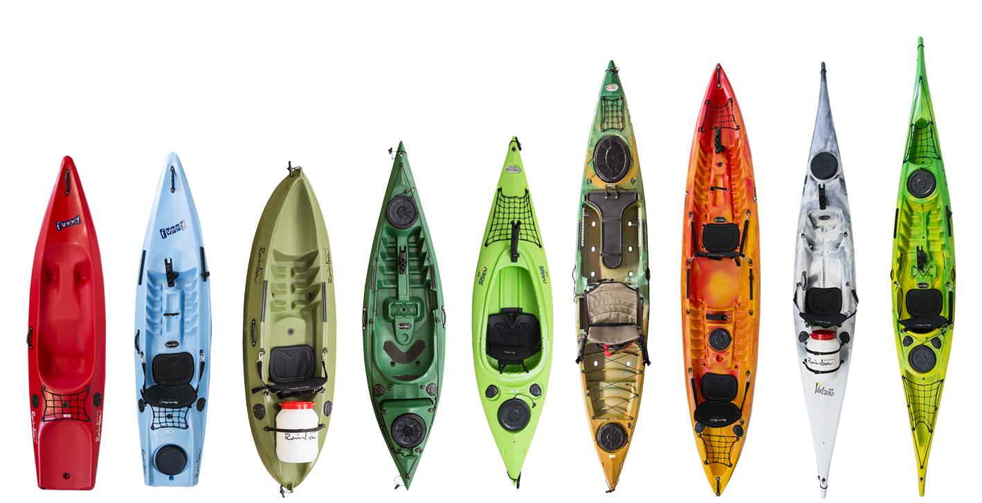 Rainbow Kayaks Fishing - Linea
